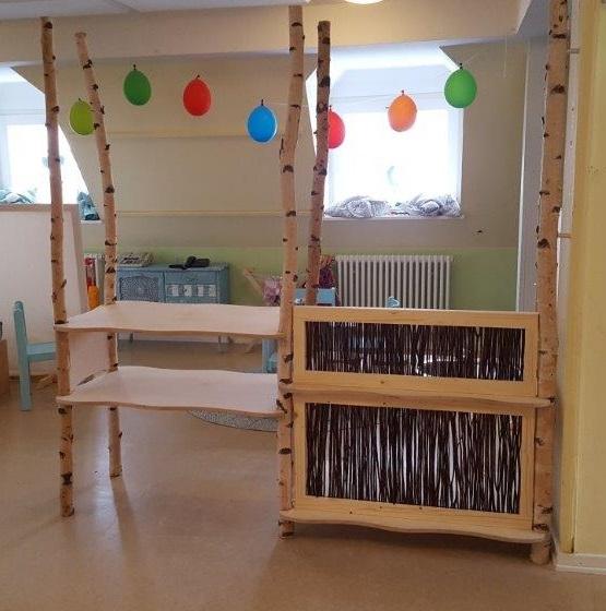 Kinderküche aus Birke